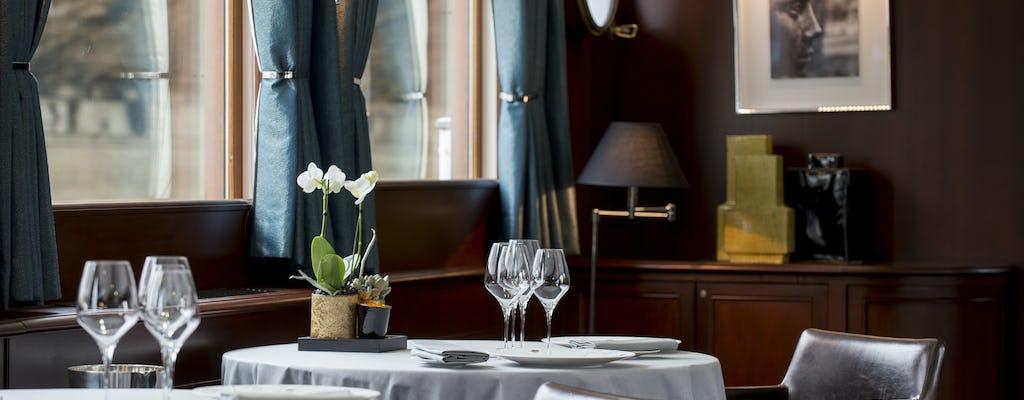 Dîner-croisière Yachts de Paris à bord de Don Juan II avec boissons