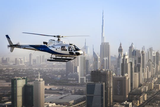 12-minute helicopter tour over Dubai