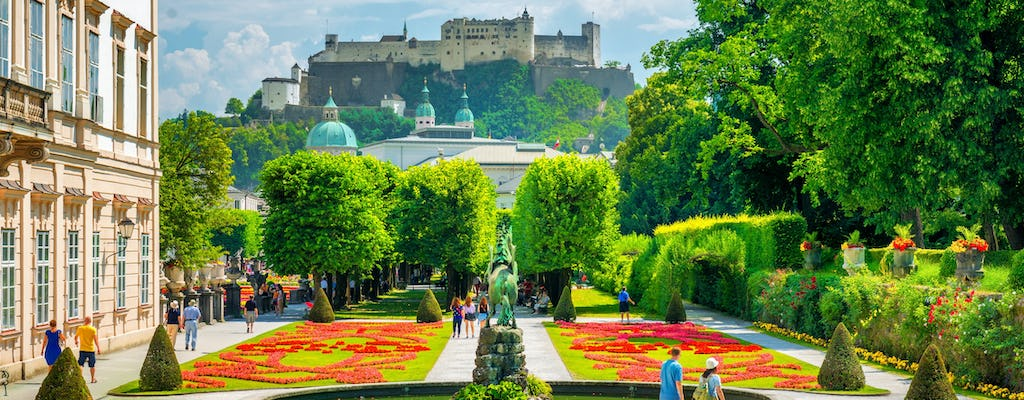 Salzburg highlights private group tour