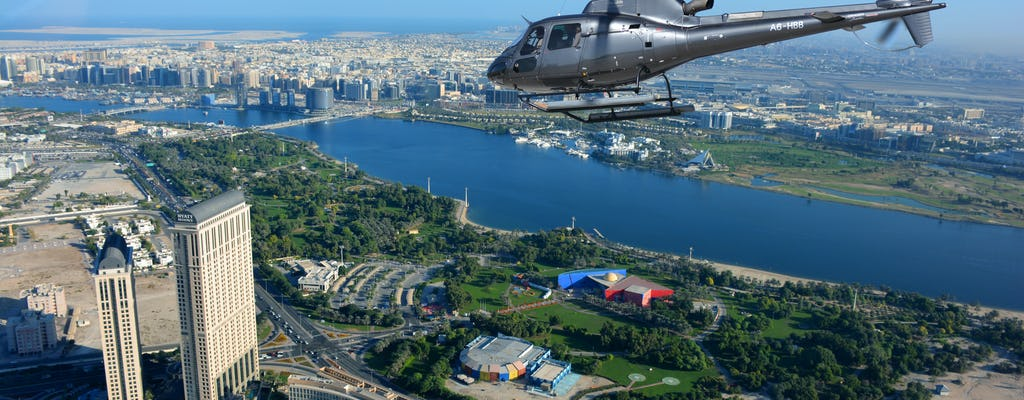 22-minute Helicopter tour over Dubai