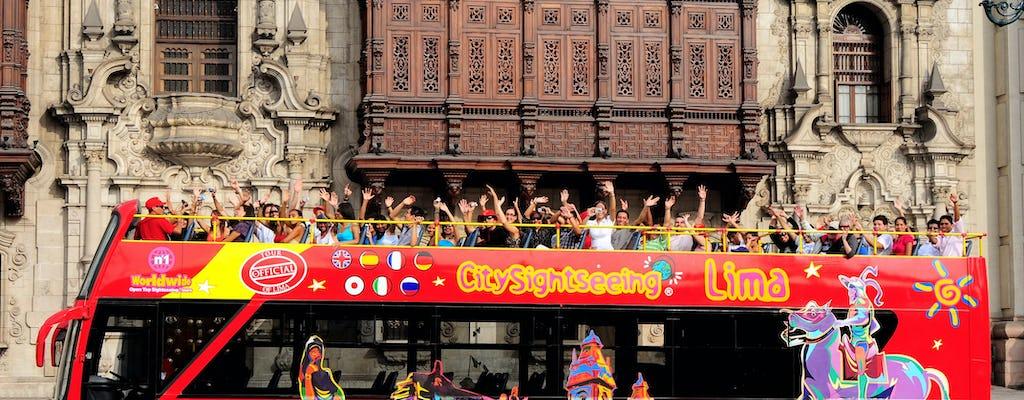 Tour panorámico en bus de Lima