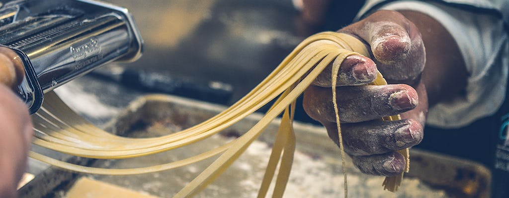 Homemade pasta cooking class and tasting at Tenuta Torciano
