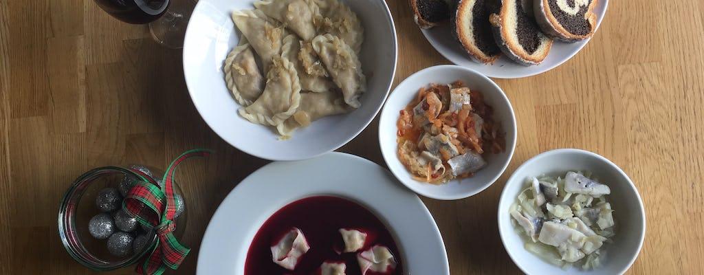 Sapori del corso di cucina natalizia polacca