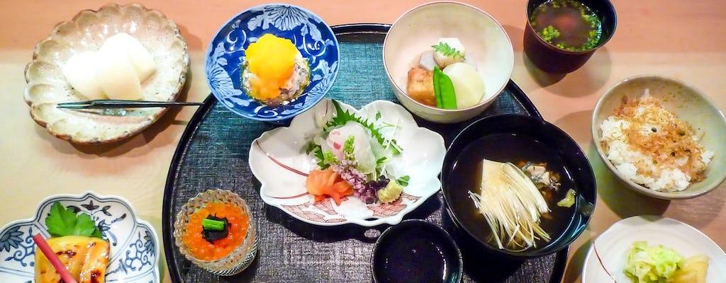 Expérience culinaire privée traditionnelle Kaiseki