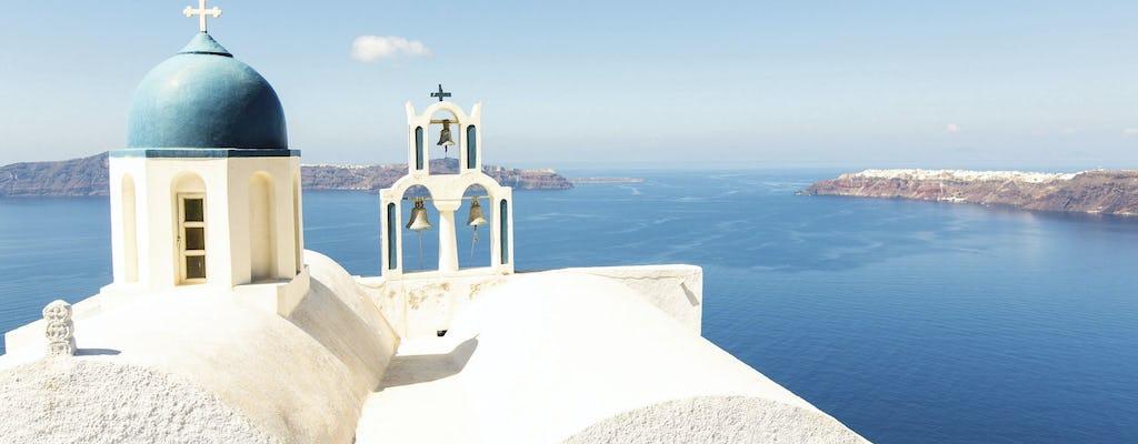 Rejs katamaranem z Chanii do Santorini