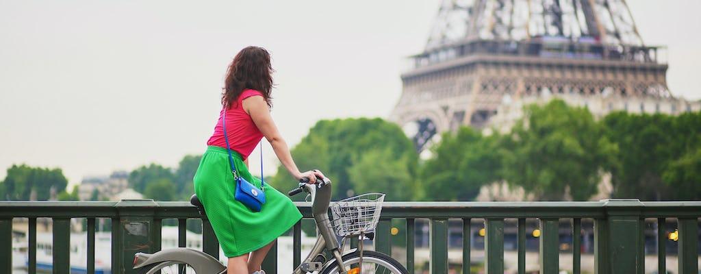 Fahrradtour entlang der Seine in Paris