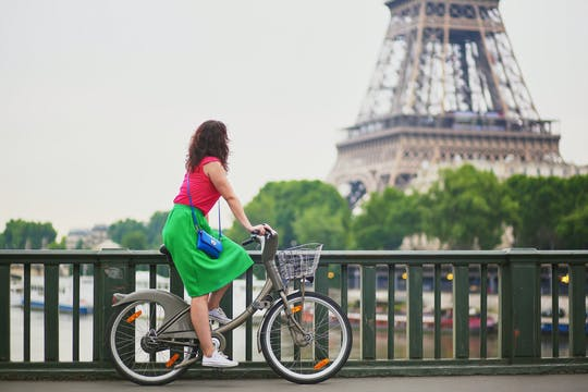 Велосипедная экскурсия по Сене