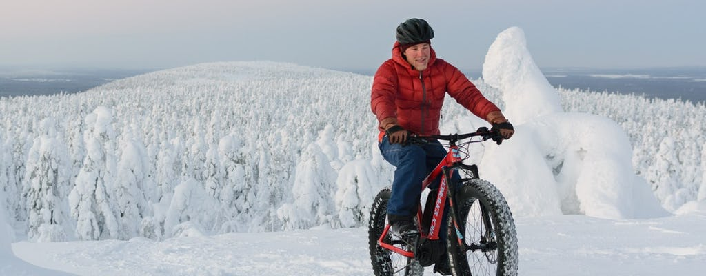 Amethyst mine tour by electric fat bike