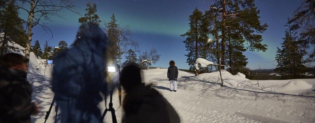 Capture a foto perfeita da aurora em Pyhä