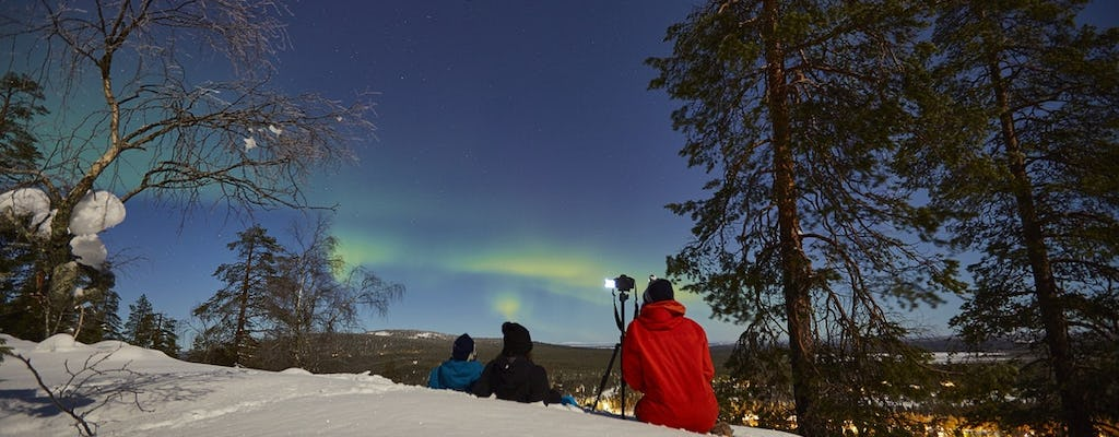 Learn to capture auroras in Luosto