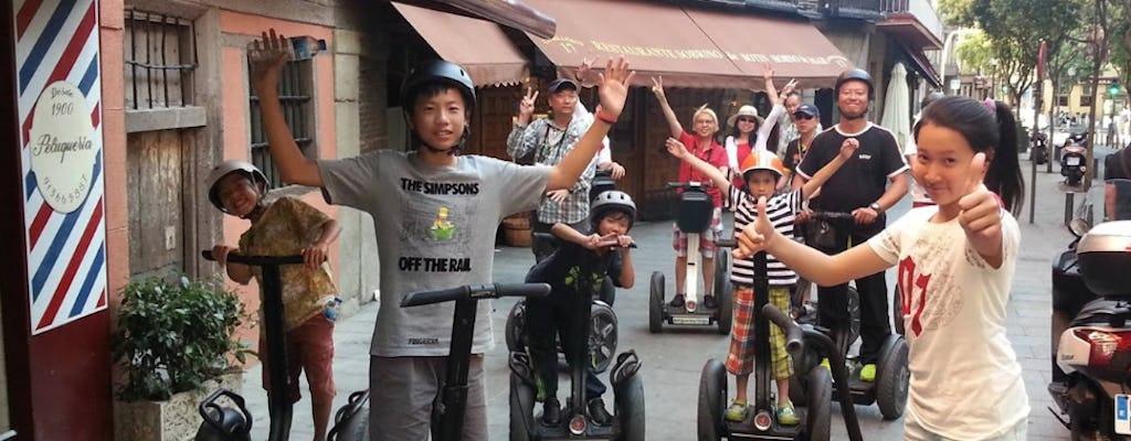 Botín self-balancing  scooter tour in Madrid