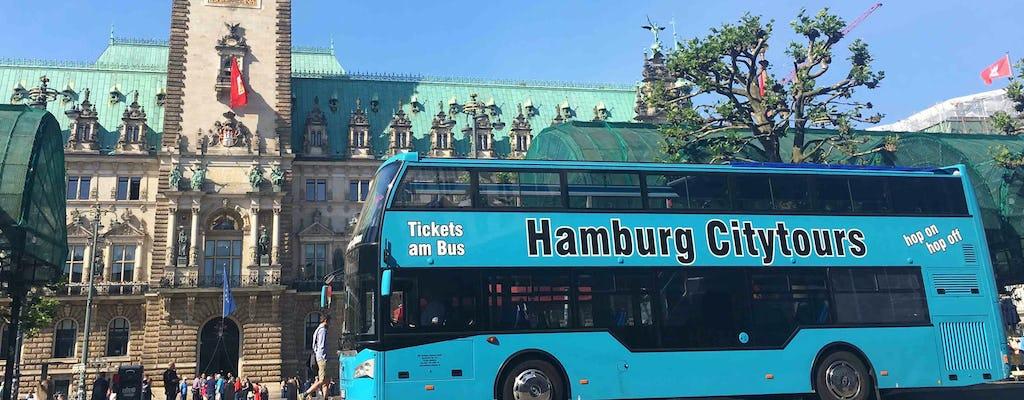 Hop-on hop-off bus tour in Hamburg