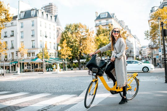 Electric bike tour of Paris