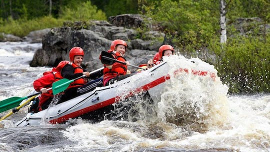 Arctic river rafting adventure