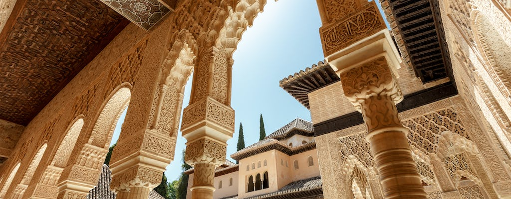 Alhambra private tour with Nasrid Palaces and Generalife Palace