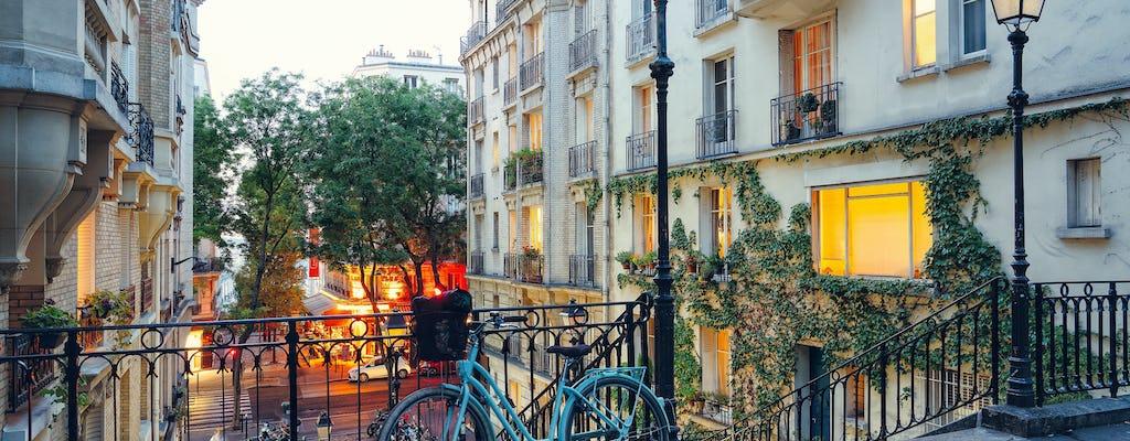 Тур на велосипедах ночью в Париже