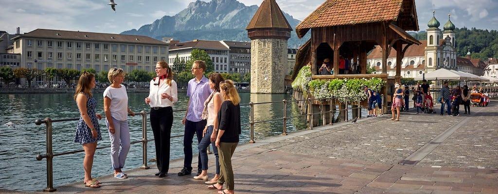 City Tour Guiado de Lucerna para Indivíduos