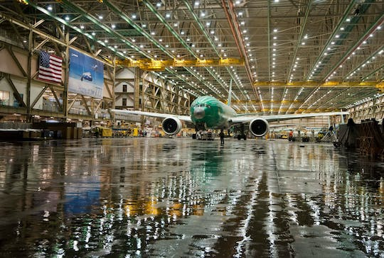 Boeing Factory and Future of Flight Aviation Center tour