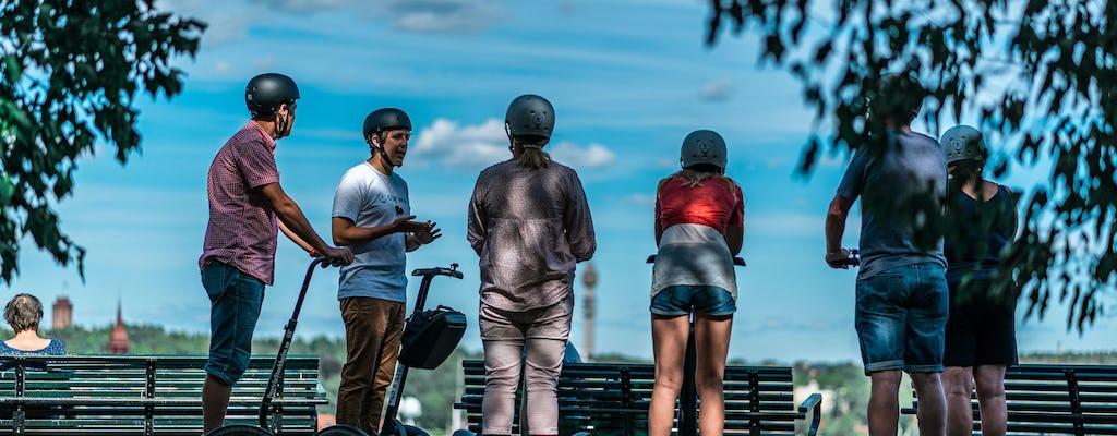 Tour of Djurgården by self-balancing scooter