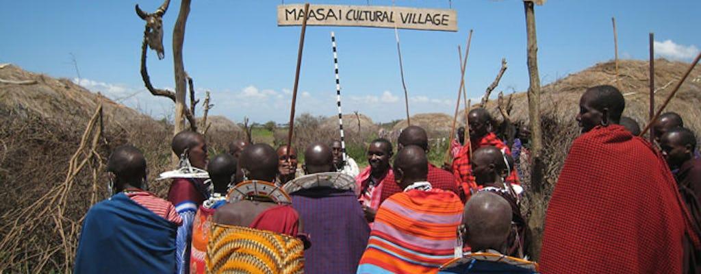 Visita à vila de Olpopongi Maasai pelo Kilimanjaro