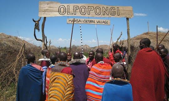 Olpopongi Maasai village visit by the Kilimanjaro