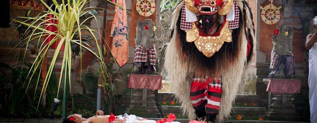 Dança Barong e turnê Kintamani