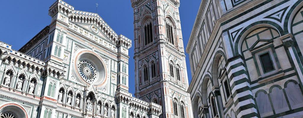 Bilety na dzwonnicę Giotta, do baptysterium i Museo dell'Opera del Duomo