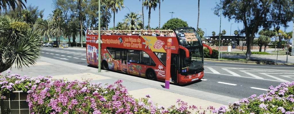 Circuit en bus Hop-On Hop-Off de Las Palmas