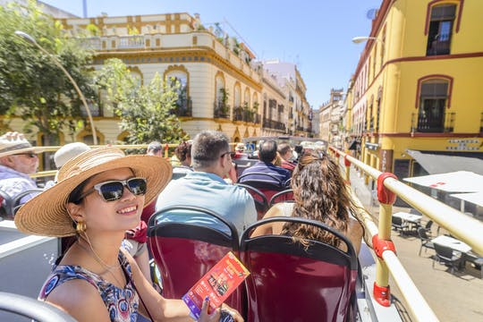 Visite en bus touristique City Sightseeing à Séville