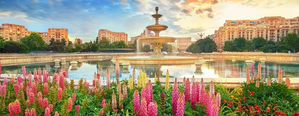 Tour panoramico della città di mezza giornata a Bucarest