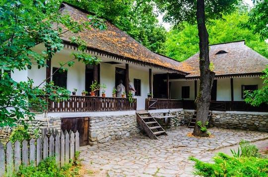 Visita privada de la ciudad de Bucarest, incluido el Museo del pueblo