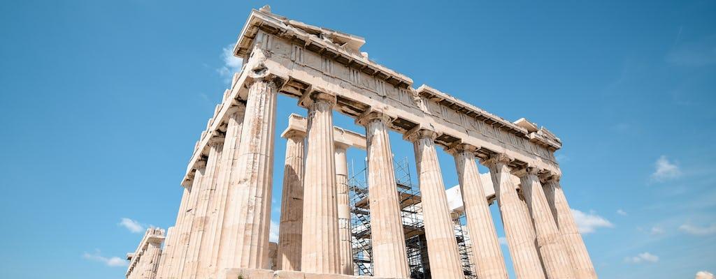 Interaktywna wycieczka w małej grupie po Akropolu i Muzeum Akropolu w Atenach