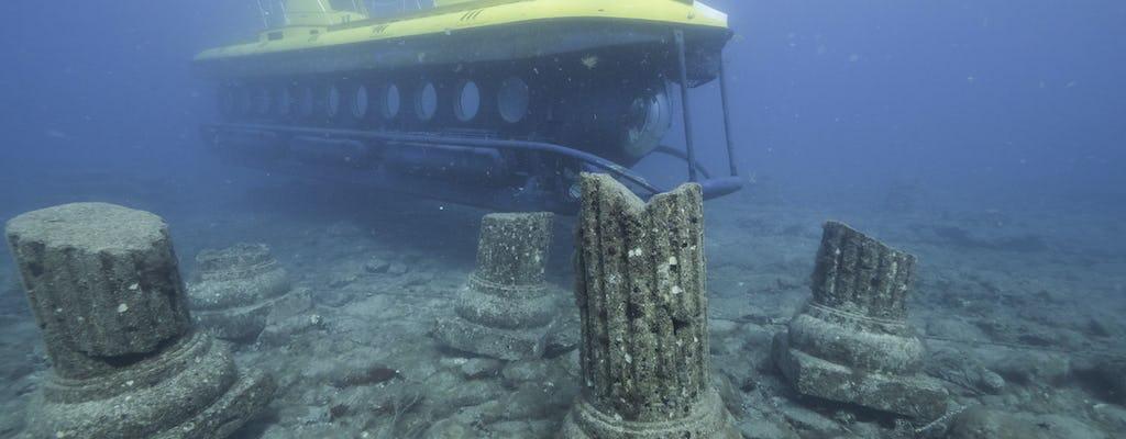 Le sous-marin Yellow Submarine de Mogan