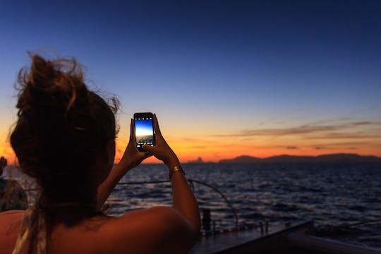 Zonsondergang Ibiza - zonder vervoer