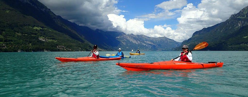 Tour di mezza giornata in kayak sul lago di Brienz