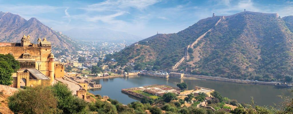 Tour de día completo por la ciudad de Jaipur con el Fuerte Amber