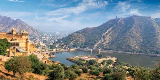 Stadstour van een hele dag door Jaipur met het Amberfort