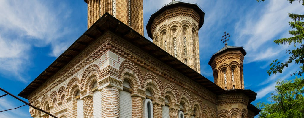 Private half-day trip to Snagov Monastery and Mogosoaia Palace