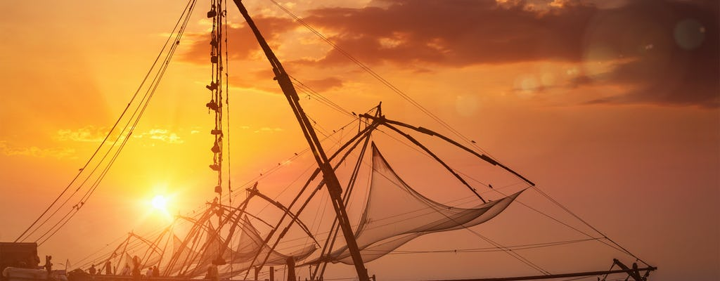 Croisière au coucher du soleil à Kochi