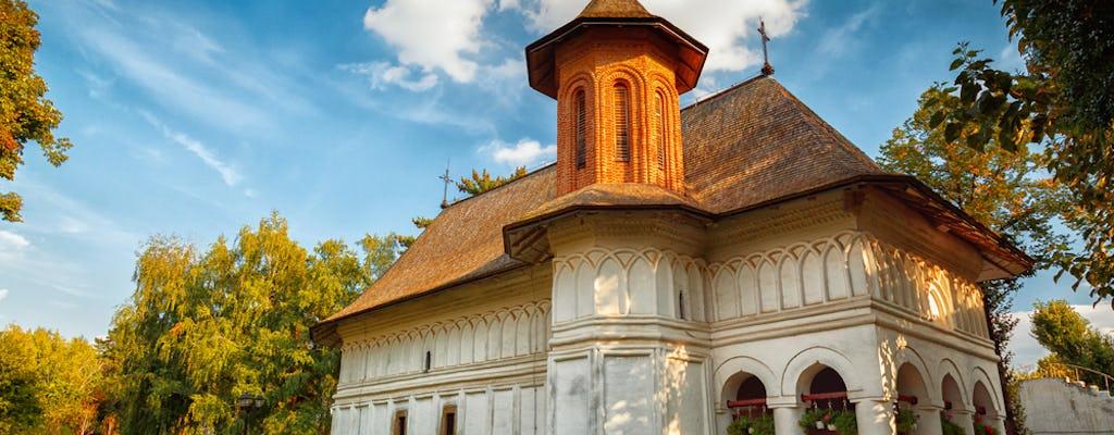 Halbtagesausflug in kleinen Gruppen zum Snagov-Kloster und zum Mogosoaia-Palast