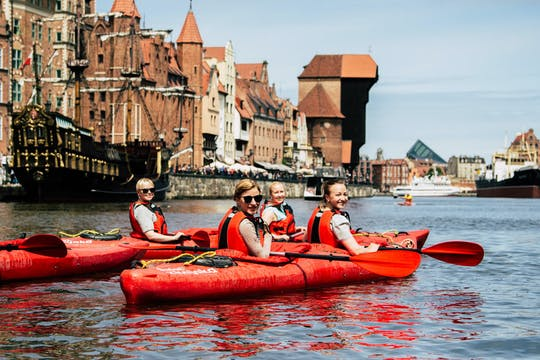 Guided kayak tour of Gdansk