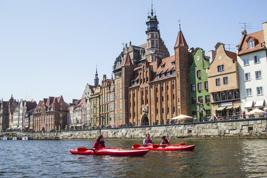 Private kayak tour of Gdansk