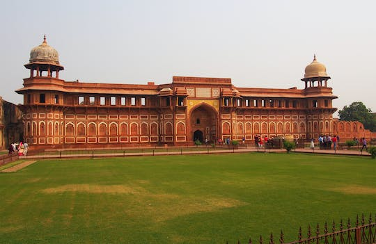 Taj Mahal and Agra Fort half-day tour