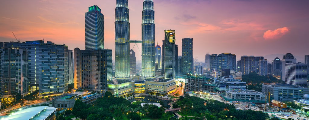 Kuala Lumpur after dusk