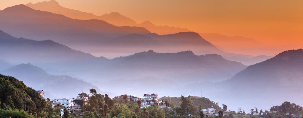 Visita del amanecer al mirador en Sarangkot