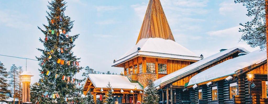 Visite a vila de Papai Noel
