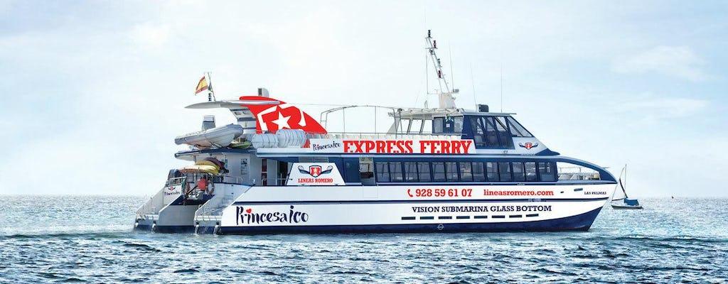 Lineas Maritimas Romero - Ferry van Lanzarote naar Fuerteventura