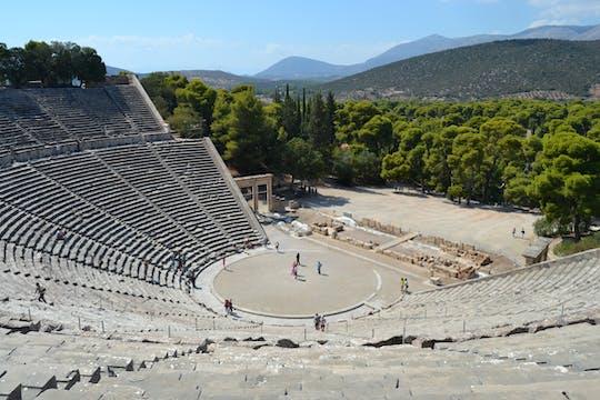 Epidauros, Nafplio i Mykeny