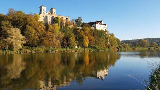 Countryside bike tour with visit of the Tyniec Abbey from Krakow