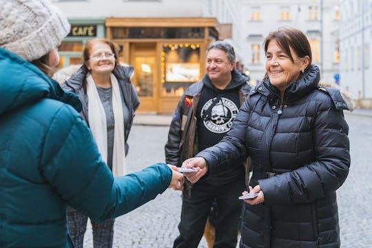 Rundgang zum Thema Obdachlosigkeit in Wien